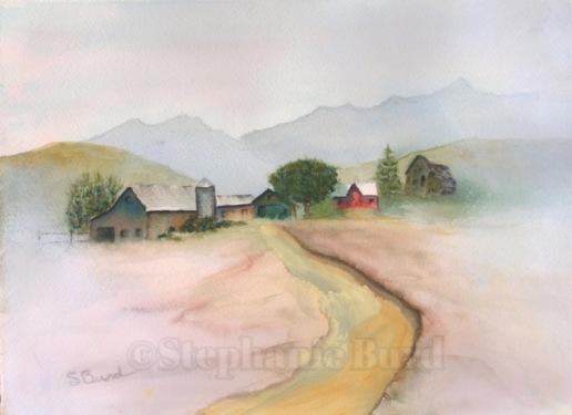 Old Farm by Stephanie Burd